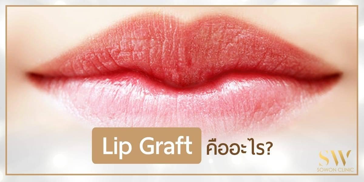 lip graft ปากกระจับ